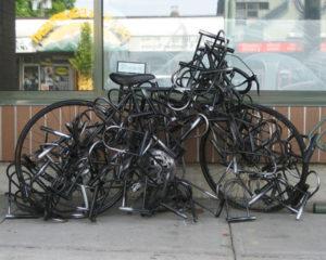 Bien protégé contre le vol de vélo !