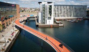 Pont cycliste Copenhague