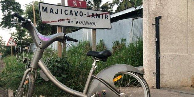 Un vélib volé retrouvé à Mayotte