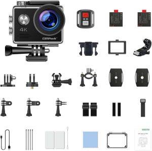 Caméra de vélo : accessoires