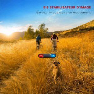 Caméra de vélo : stabilisateur d'image